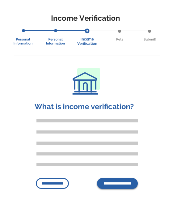 automated income verification works on all devices